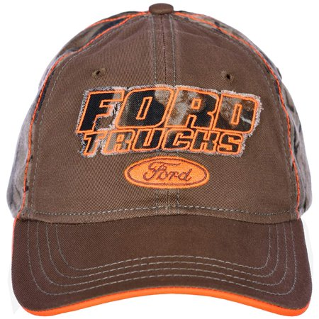H3 Headwear Ford Trucks Adjustable Cap with REALTREE Camouflage & Hunter Orange ()
