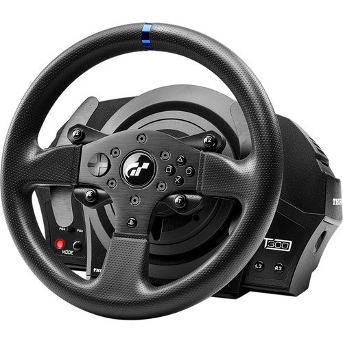 a902a508b31 Thrustmaster T300RS Officially Licensed Force Feedback Racing Wheel (PS4 /  PS3) - Walmart.com