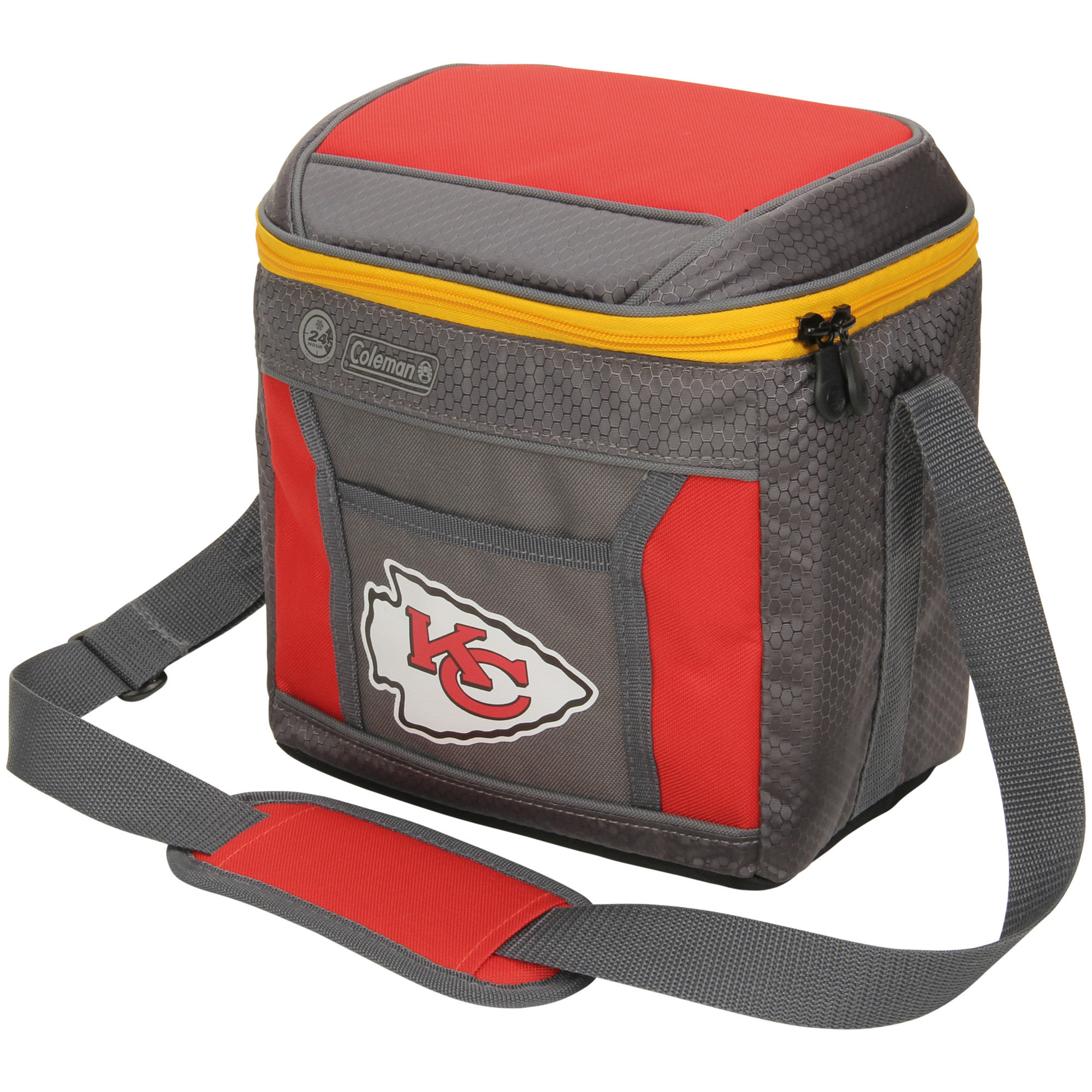Kansas City Chiefs Coleman 9-Can 24-Hour Soft-Sided Cooler - No Size