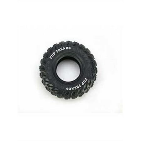 Ethical Dog-Pup Treads Rubber Tire- Black 6 Inch