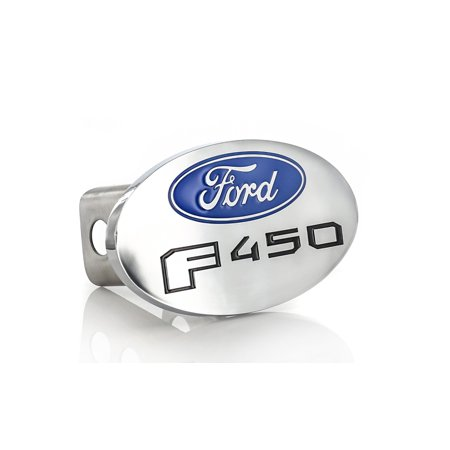 2 Inch Metal Posts - Ford F 450 Metal Trailer Hitch Cover Plug (2 inch post)