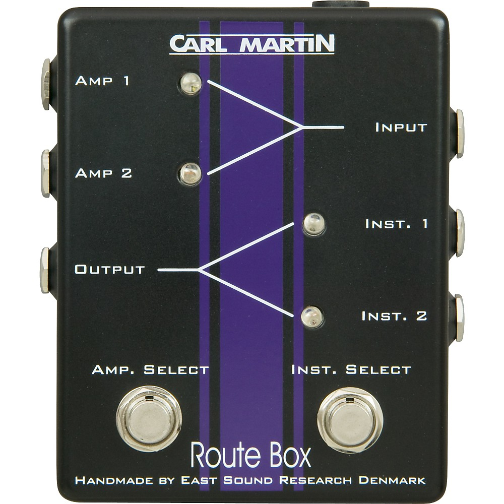 Carl Martin Route Box Double A B Footswitch by Carl Martin