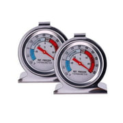Refrigerator Thermometers Classic Series Large Dial Thermometer (Freezer/Refrigerator) - Set of 2