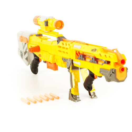Nerf N-Strike Longshot CS-6 Blaster - Walmart.com