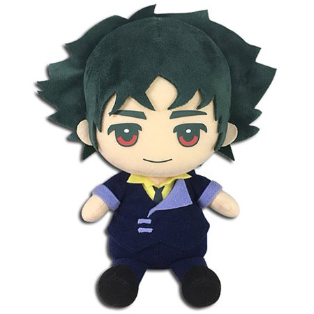 "Great Eastern Entertainment Cowboy Bebop Spike Spiegel Sitting Plush, 7"" H"