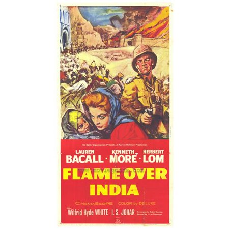 Posterazzi MOVIH6747 Flame Over India Movie Poster - 27 x 40 in. - image 1 de 1