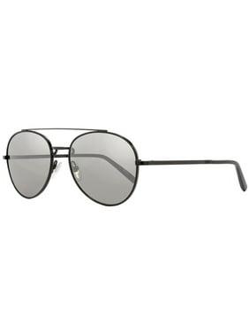 Montblanc  MB605S 02C Mens Shiny Black 56 mm Sunglasses - Shiny Black