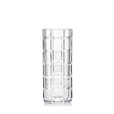 Radius 8 Clear Non Leaded Crystal Flower Vase Walmart