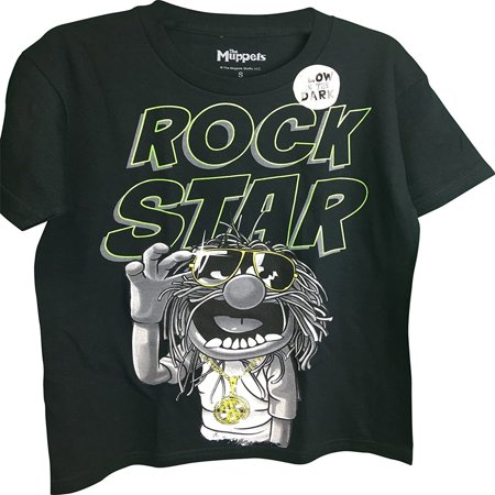 Muppets Animal Hoodie (The Muppets Animal Wearing Sunglasses Rock Star Youth)