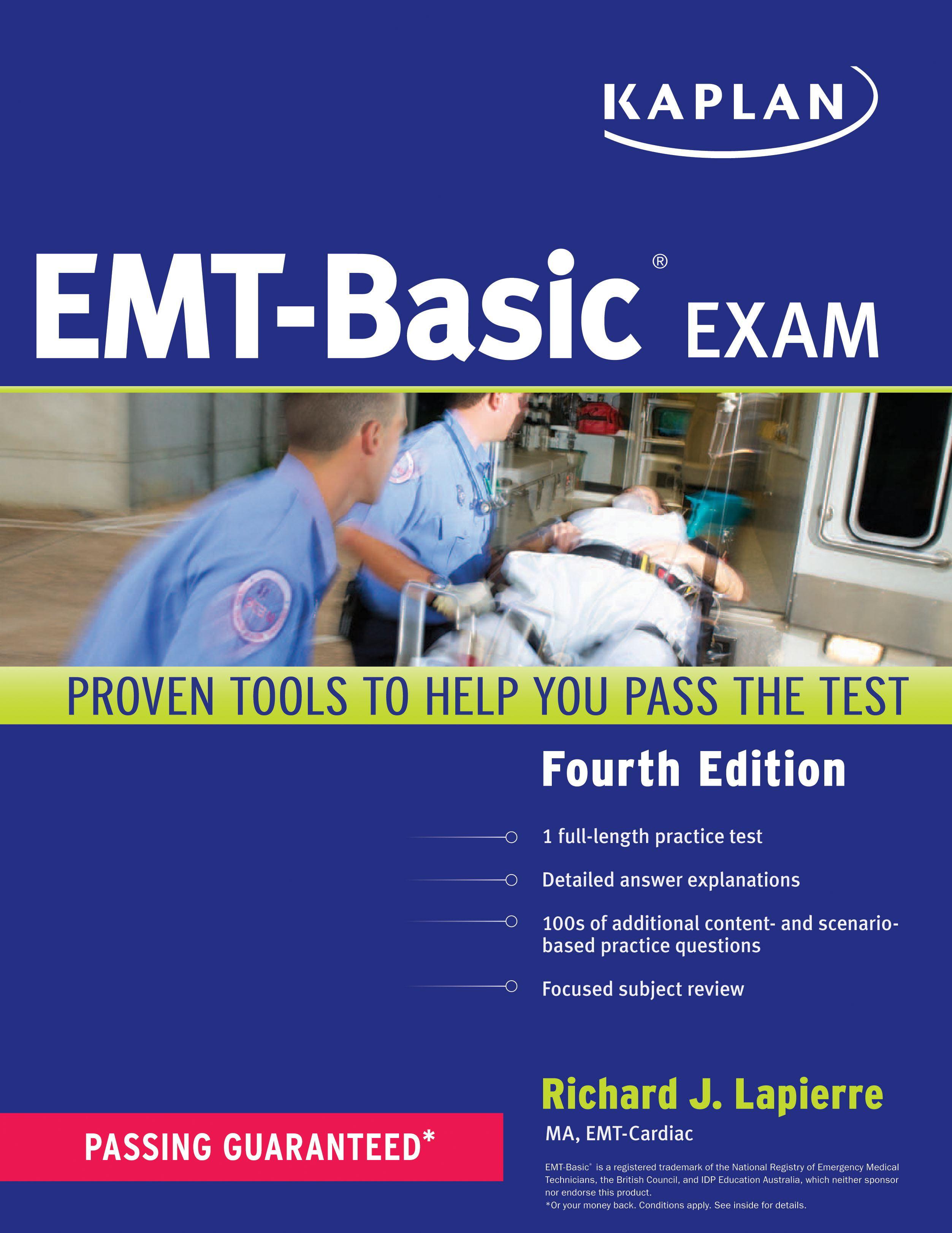 Kaplan Emt Basic Exam Walmart