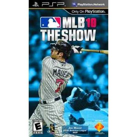 Refurbished Mlb 10  The Show   Sony Psp