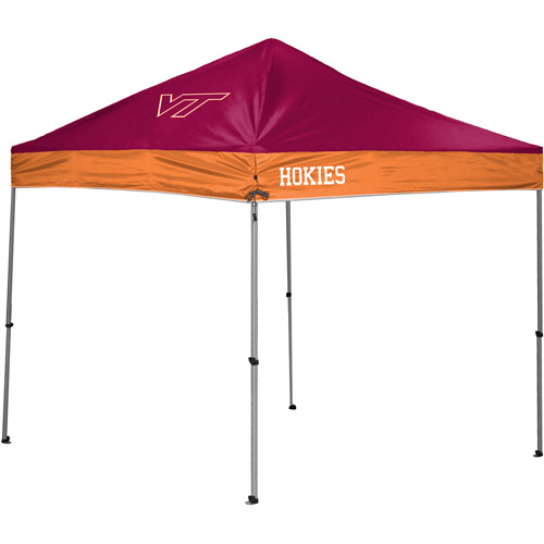 Rawlings NCAA 10u0027 x 10u0027 Straight Leg Canopy Virginia Tech Hokies  sc 1 st  Walmart & Rawlings NCAA 10u0027 x 10u0027 Straight Leg Canopy Virginia Tech Hokies ...