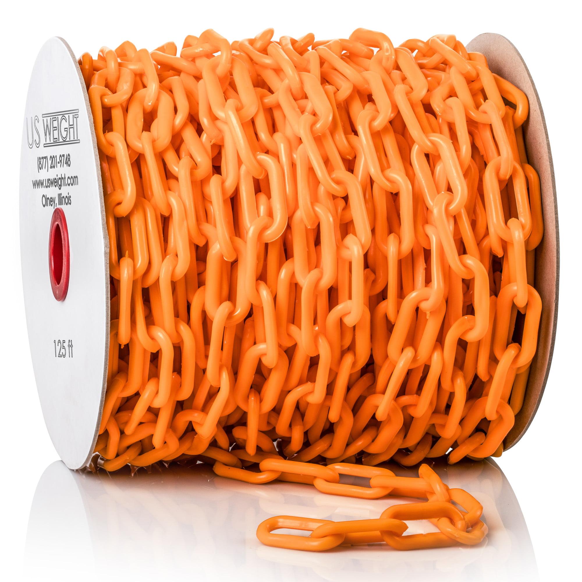 US Weight ChainBoss 2-Inch Plastic Chain –125 Feet