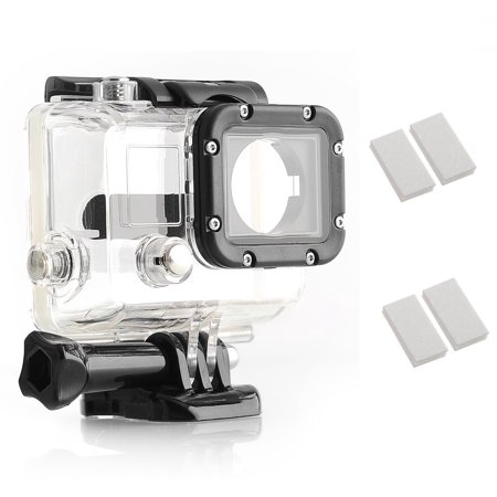 Opteka OPT-GPWPC Underwater Housing & Anti-Fog Inserts for GoPro Hero 3 Camera (NOT Hero 3+)