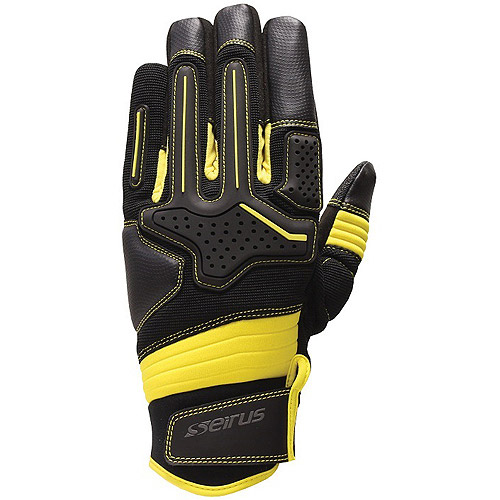 Seirus HWS Workman Dakota Men's Glove, Black/Yellow