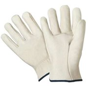 West Chester Glove Size 2XL Leather Palm Gloves,990/XXL