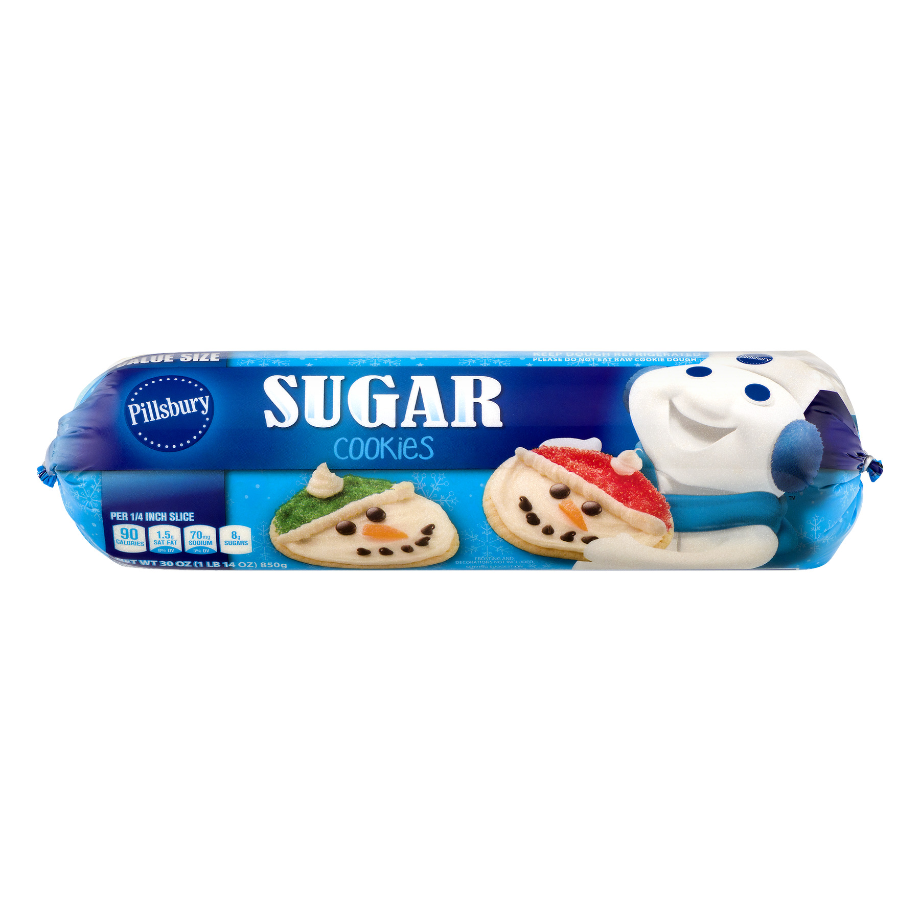 Pillsbury Sugar Cookies 30 oz. Chub