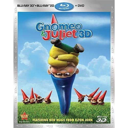 Gnomeo And Juliet (3D Blu-ray + Blu-ray + DVD) (Widescreen)
