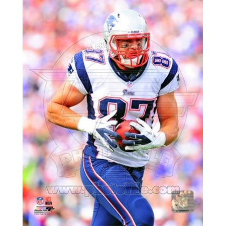 Rob Gronkowski 2012 Action Sports Photo