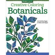 Design Originals Creative Adult Coloring Botanicals