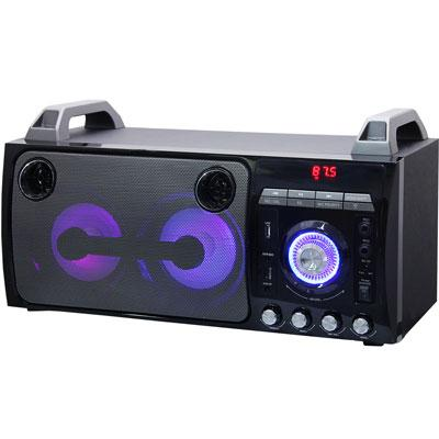 Supersonic Speaker System - 40 W RMS - Battery Rechargeable - Wireless Speaker(s)