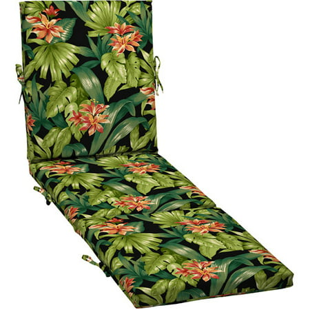 Better Homes And Gardens Outdoor Chaise Cushion Black