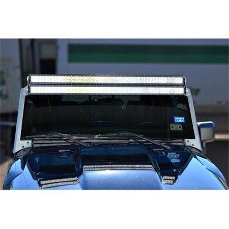 n fab j07450lr jeep wrangler light bar mounting kit. Black Bedroom Furniture Sets. Home Design Ideas