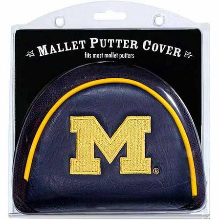 Team Golf NCAA Michigan Golf Mallet Putter Cover