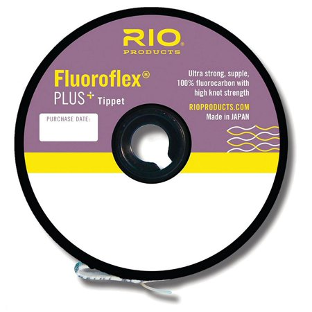 Fluoroflex Plus Tippet - Fluoroflex Plus Tippet, Fluoroflex Plus is 100% fluorocarbon and the strongest, thinnest fluorocarbon on the market with incredible strength By RIO Ship from US