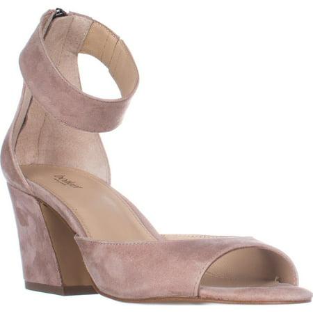 ab06e4c5efb Botkier New York - Womens Botkier New York Pilar Ankle Strap Block Heel  Sandals - Blush - Walmart.com