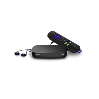 Roku Ultra 4K HDR Streaming Player with voice remote (2017)