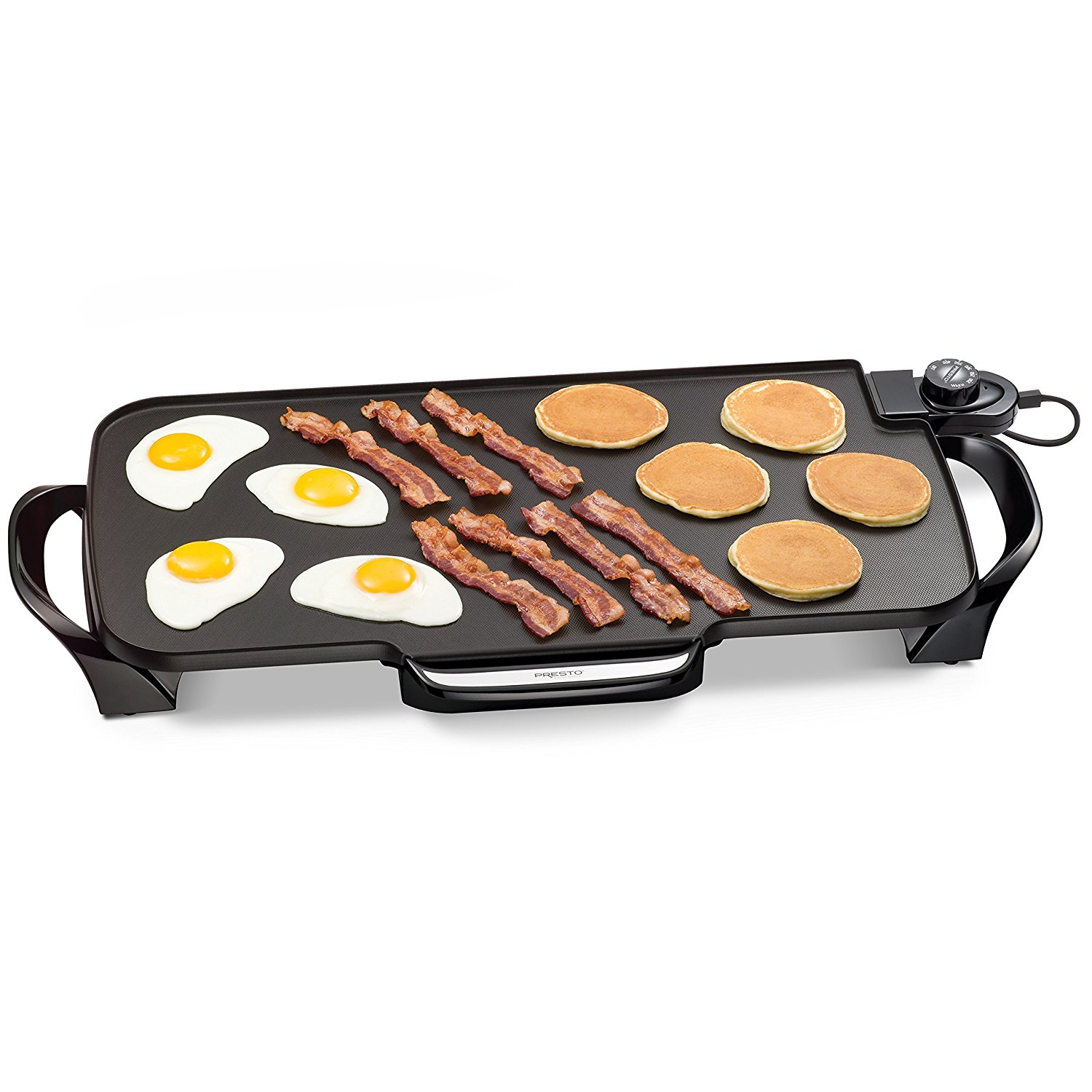 Presto  22-inch Electric Griddle With drip tray, Removable Handles New!