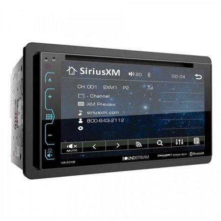 SoundStream 2 DIN DVD CD/MP3 AM/FM Receiver w/ Bluetooth & 6.2 Inch Touchscreen