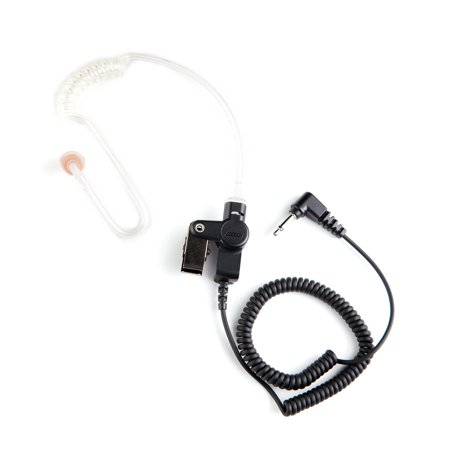 2 Wire Surveillance Earpiece (Orion T2 Surveillance Listen Only Earpiece for Motorola Single Pin Jack Radio (2.5mm))