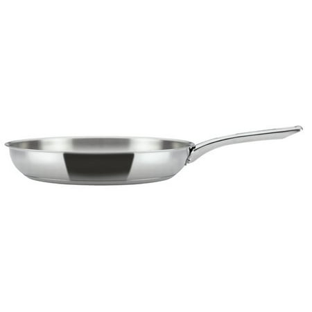 Ayesha Curry Home Collection Stainless Steel Skillet, 12.5