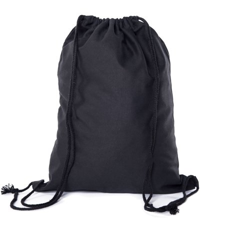 Multi-Purpose 100 % Cotton Canvas Drawstring Backpacks-Wholesale Heavy Duty Cotton Cinch Sacks -By Mato & Hash