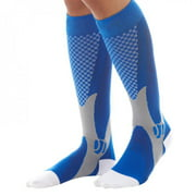EleaEleanor Men Outdoor Sports Socks Leg Support Stretching Sports Socks Compression Sports Socks