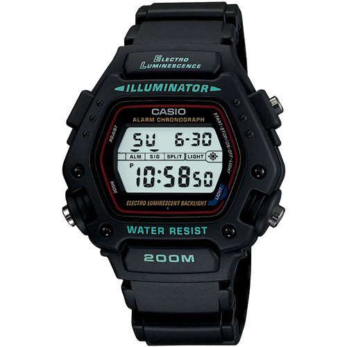 Reloj Inteligente Casio Men39; s deporte Digital reloj, correa negra + Casio en VeoyCompro.com.co