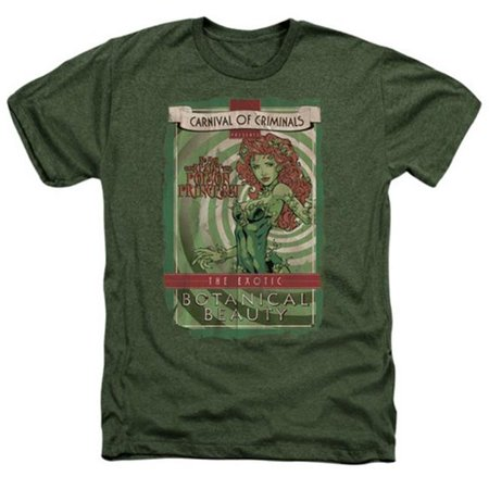batman dc comics poison ivy botanical beauty adult heather t-shirt tee