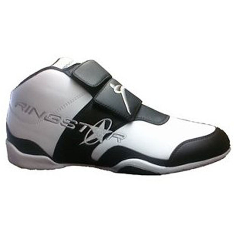 Ringstar Fightpro Martial Arts Sparring Shoes - White wit...