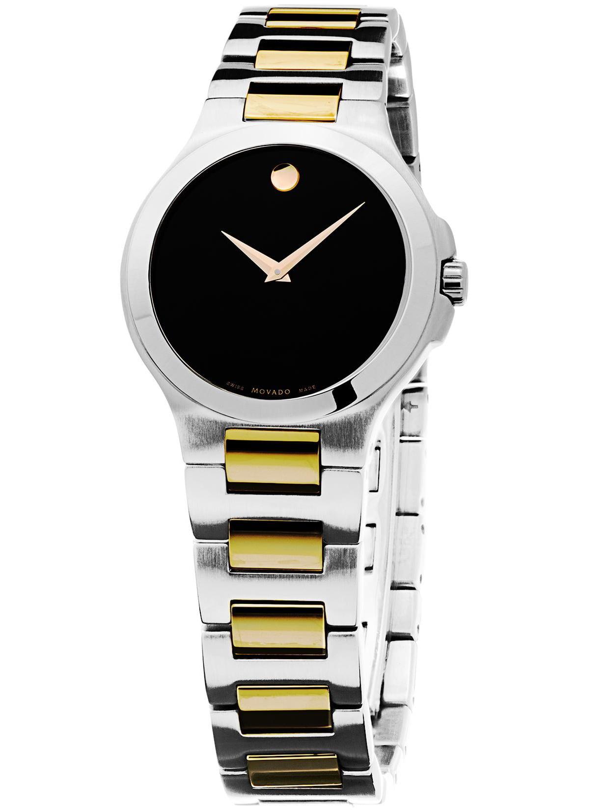 Museum 0606182 28mm Multicolor Steel Bracelet & Case Sapphire Women's Watch