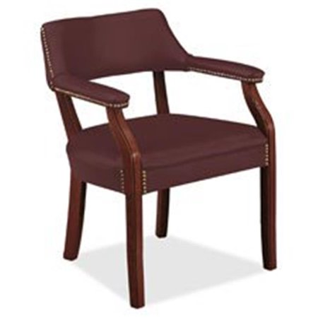 6550 Series Traditional Guest Chair - (Merlot Office)