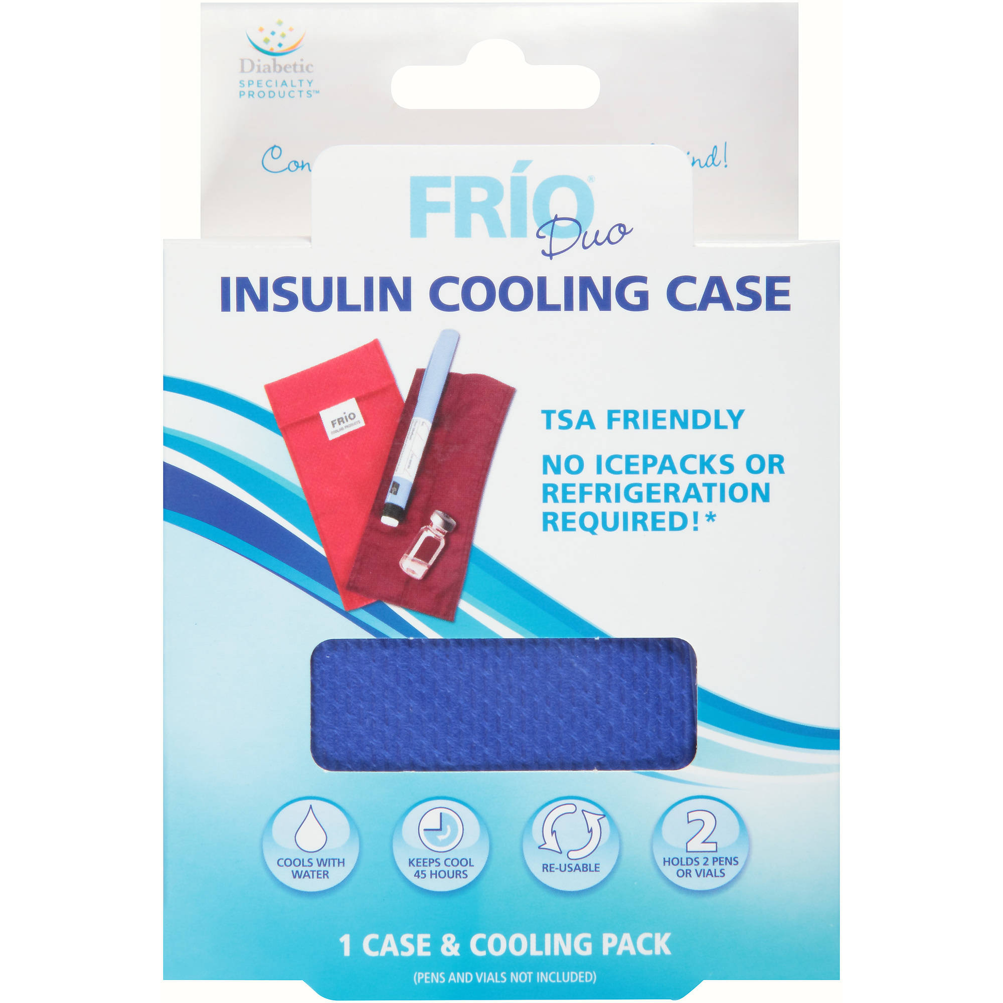 Frio Duo Insulin Cooling Case, 2 pc