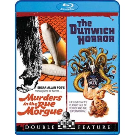 Murders in the Rue Morgue / The Dunwich Horror (Blu-ray) - Morgue Sign