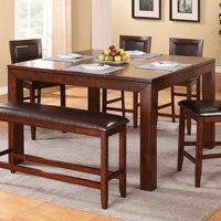 Winners Only Fallbrook Counter Height Dining Table with 12 in. Butterfly Leaf
