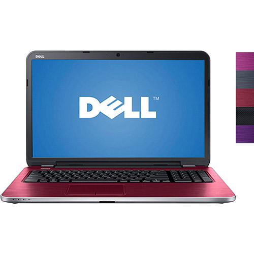 """Dell Fire 17.3"""" Inspiron 17R Laptop PC with Intel Core i3-3227U Processor and Windows 8 Operating System (Assorted Colors)"""