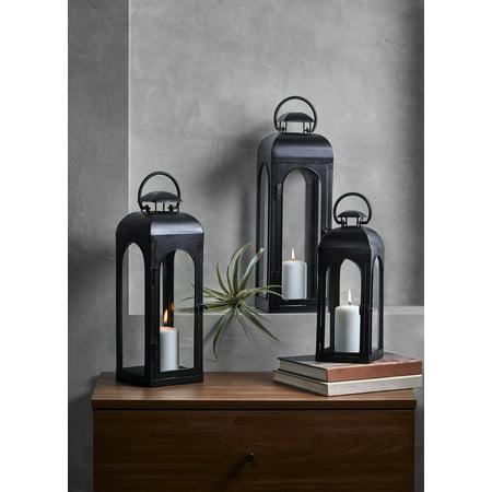 Better Homes And Gardens Medium Black Lantern