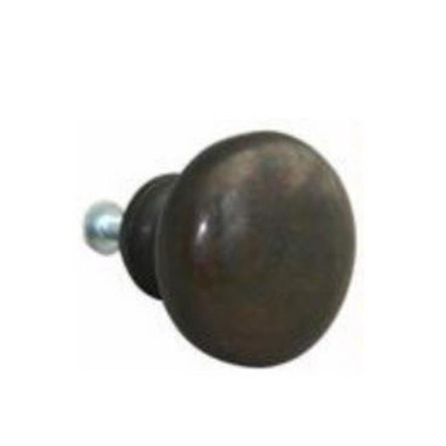 John Wright 88-750 38mm Round Knob Faux Cooper