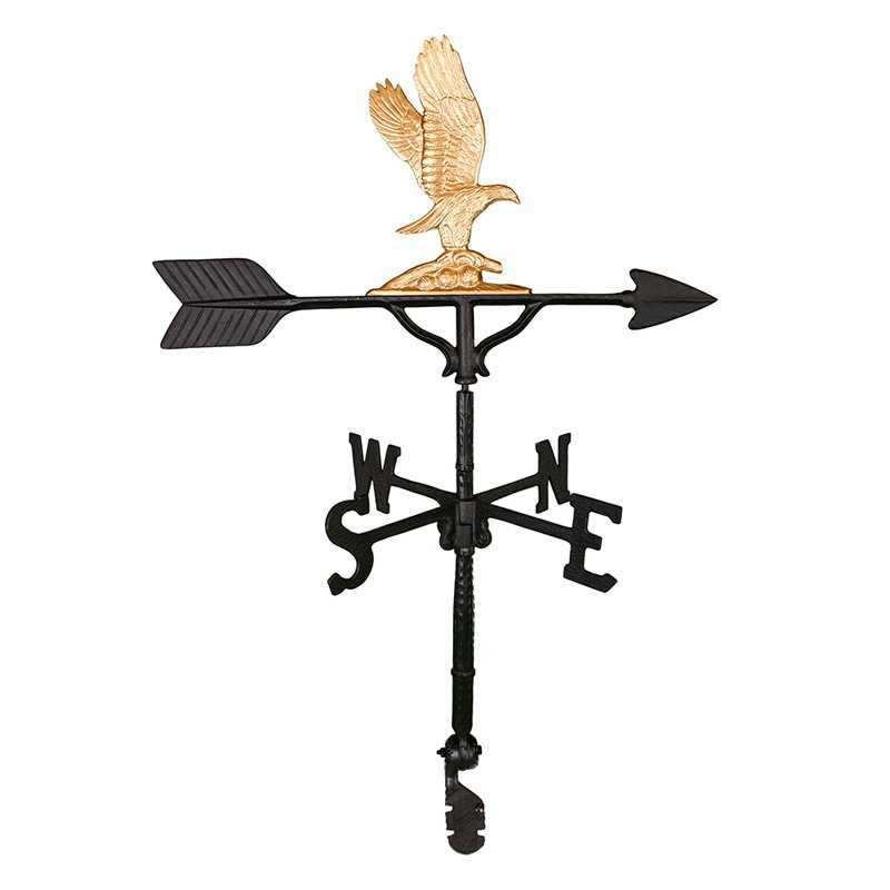 Gold Eagle Weathervane - 32 in.
