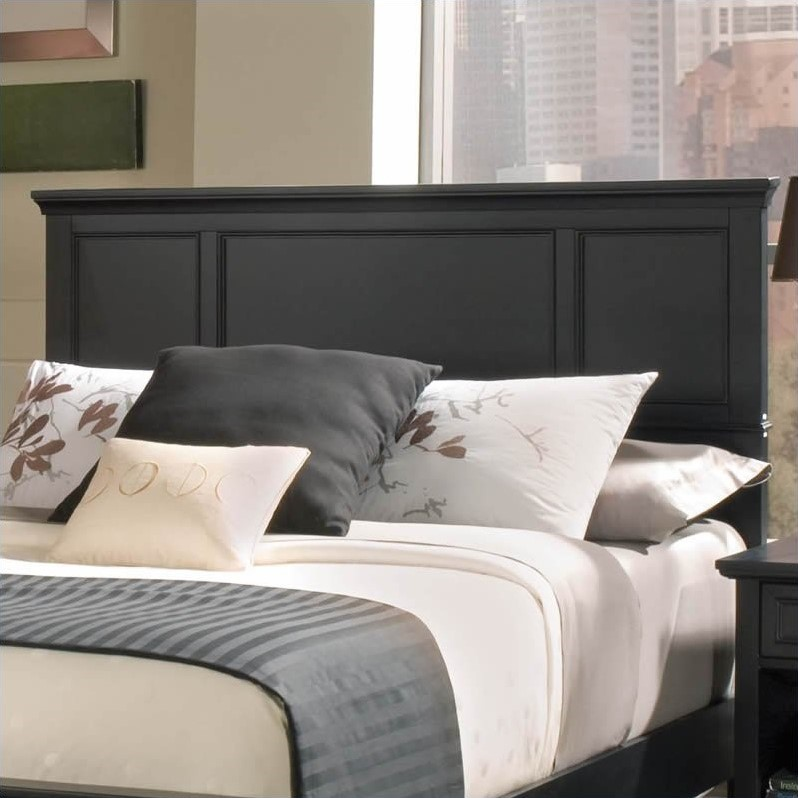 Bedford Full Queen Headboard Only, Ebony by Home Styles